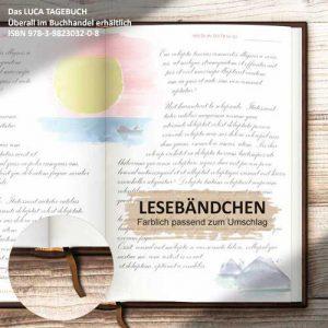 Das LUCA TAGEBUCH mit Lebensweisheiten für jeden Tag, Luca Rohleer, ISBN 978-3-9823032-0-8